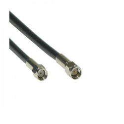ANTENNA CABLE MALE REVERSED - SMA to MALE SMA - LMR200 0.3M BK ANTENNA CABLES 5201109